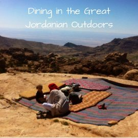Eating In Petra – Dining in the Great Jordanian Outdoors